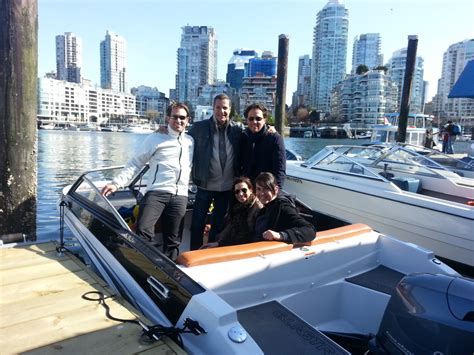 fishing boat rentals vancouver island excited for their boat rental adventure granville island
