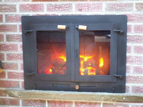 outdoor fireplace doors todsen design