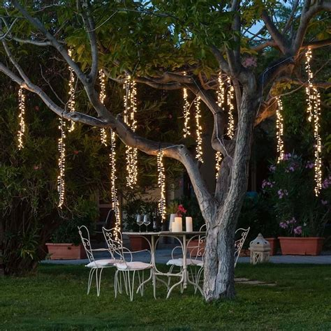 racimo led luces colgantes mts decoracion bodas arboles  en mercado libre