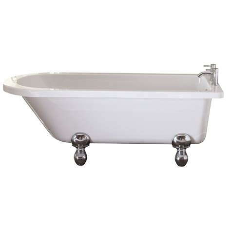bentham freestanding single ended bath only 163 499 99