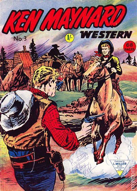 Westerns Graphic Novels Comics Books Ken Maynard Western Uk Comic Books