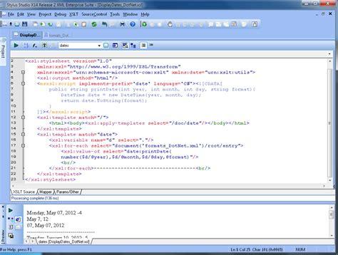 xslt tutorial html extending xslt with java and c