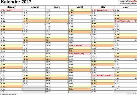 Word Vorlage Jahreskalender Kalender 2017 Word Zum Ausdrucken 16 Vorlagen Kostenlos