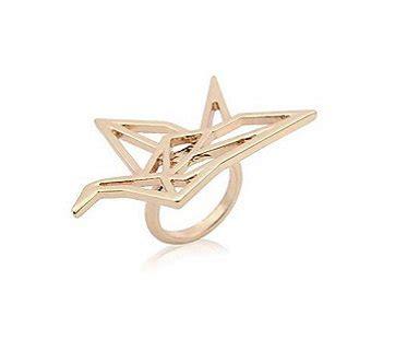 Origami Crane Ring - origami crane ring