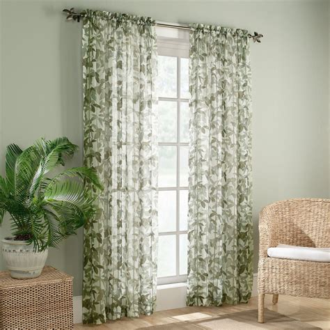 curtains and drapes canada colony 410693 sheer voile fiji curtain panel set of 2