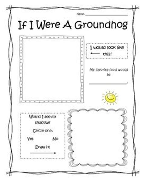 groundhog day writing paper the world s catalog of ideas