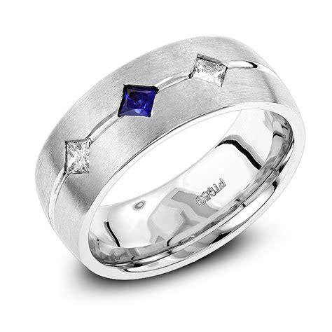 unique wedding bands platinum sapphire wedding
