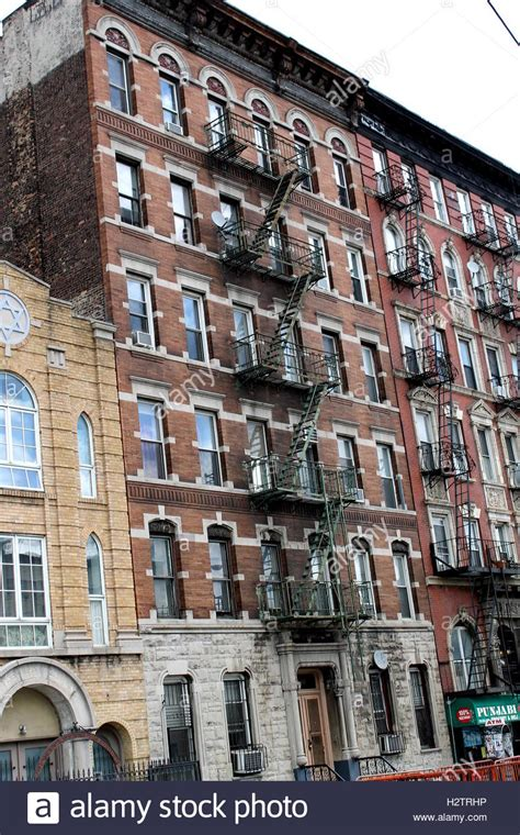 brick apartment buildings in new york city stock photo royalty free image 122247266