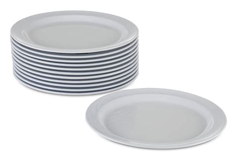 New Plates Are by New Melamine Plates Dinnerware Set 12 Pack Kitchenware