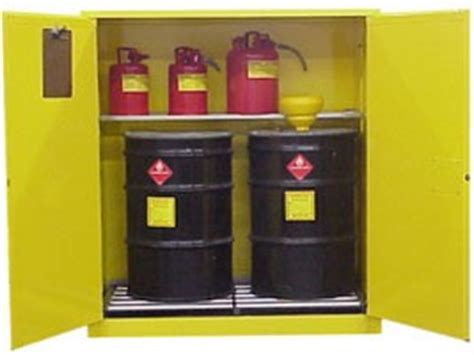 55 Gallon Drum Storage Cabinet by 55 Gallon Drums Barrel Storage Cabinets For Osha Compliance