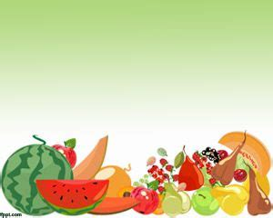 Free Fruit Powerpoint Template Healthy Food Powerpoint Template