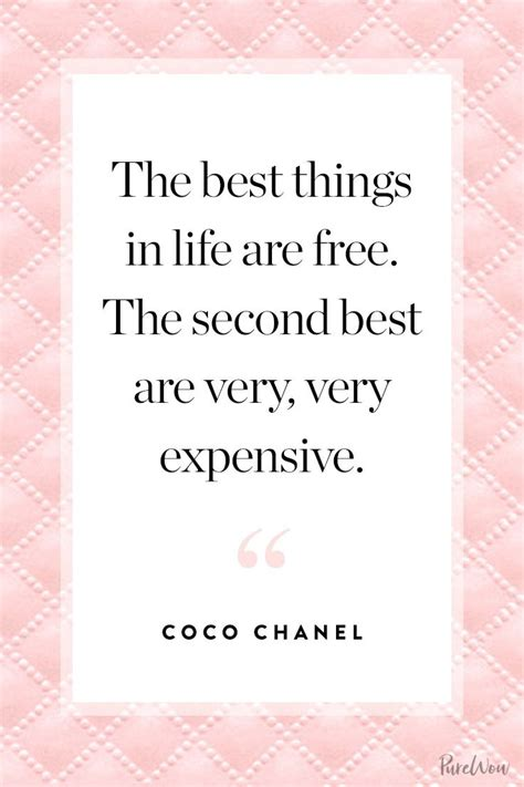 Zitate Coco Chanel by Best 25 Coco Chanel Quotes Ideas On Chanel