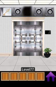 100 Floors Escape Level 77 - 100 doors escape now level 77 walkthrough