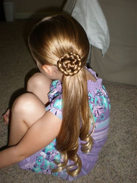 side ponytail child 36 best ideas about baby girl hairstyles on pinterest