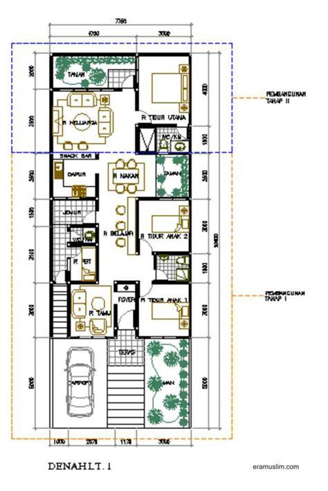 gambar dan denah rumah minimalis 1 lantai rumah minimalisku