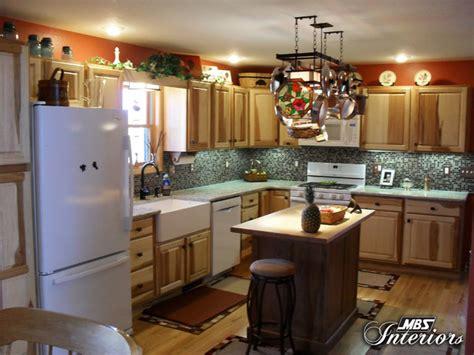 hickory farmhouse kitchen rustic kitchen  metro