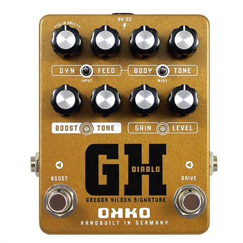 Dominator Mkii Okko Pedal okko fx guitar pedals handbuilt in germany