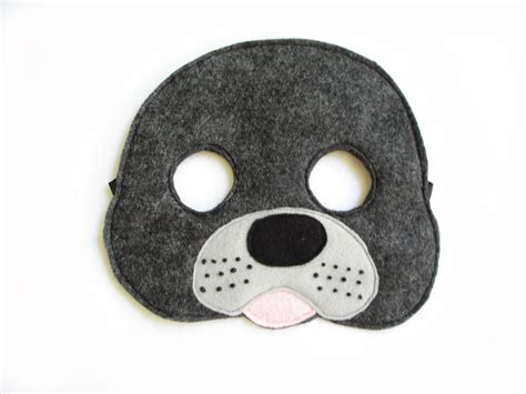 printable seal mask template children s seal felt mask what does the fox say