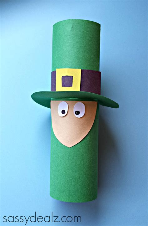Leprechaun Toilet Paper Roll Craft - leprechaun toilet paper roll craft for st s day