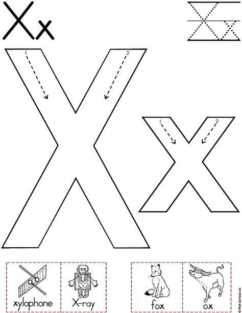 printable letter y worksheets for preschool alphabet letter x worksheet standard block font