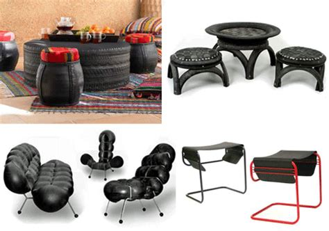 rubber st made used tires recycled tire rubber furniture design