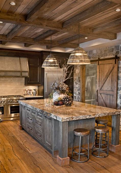 rustic kitchen cabinets country style 13 rustic kitchen design ideas style