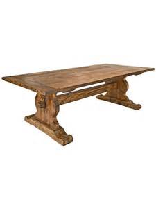 pine devonshire trestle table cottage home 174