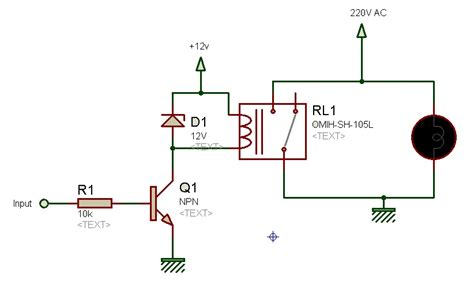 npn transistor driver circuit relay driver circuit using uln2003 and its applications