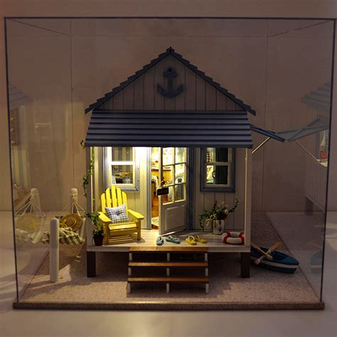 model doll houses diy doll house handmade toy assemble miniature dollhouse