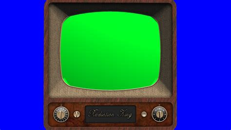 green tv old tv vintage televison green screen tracking shot and stills free green screen 2 youtube