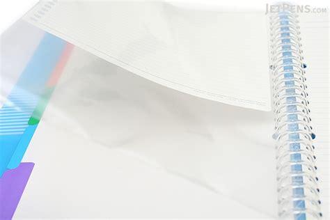 Binder Polos B5 Ring26 kokuyo cus slide binder b5 26 rings light blue jetpens