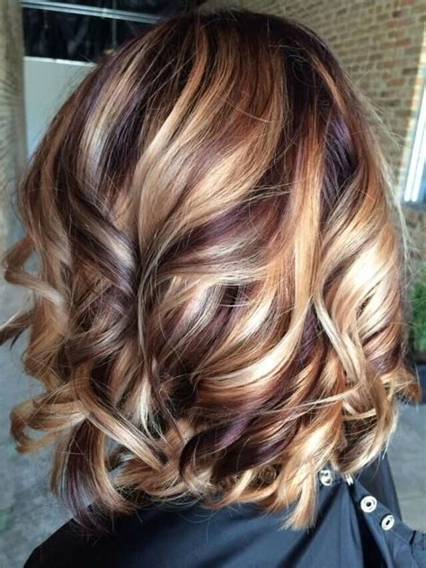 medium length hairstyles with lowlights highlights and lowlights on medium length hair hair style