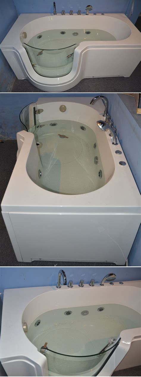 used walk in bathtubs hs b004a used walk in tub walk in bathtub shower walk in