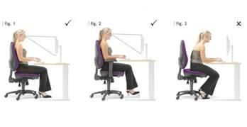 proper sitting posture at desk proper sitting posture archives