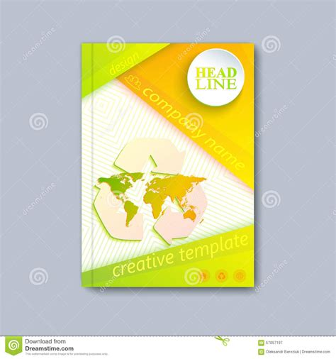 booklet cover layout design modern template layout brochure magazine flyer booklet