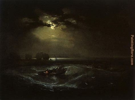 turner the sea joseph mallord william turner fishermen at sea painting 50 off