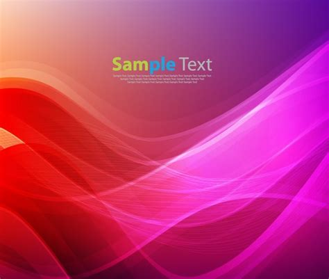 orange and purple soft curves wallpaper abstract abstract red purple design background vector illustration