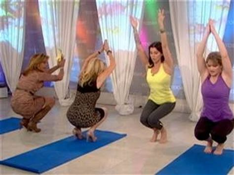 kathie lee gifford exercise video get yoga fit with kathie lee and hoda health wellness
