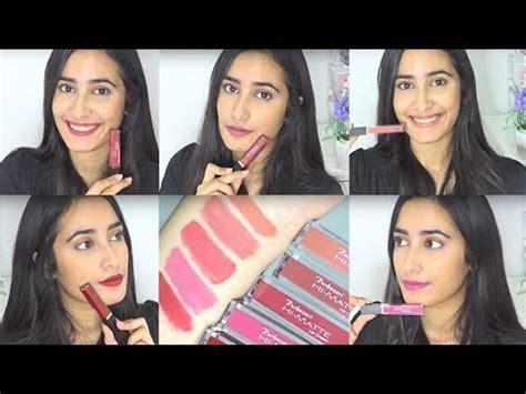 Lipstik Hi Matte Lip Purbasari purbasari hi matte lip review swatches indonesia prisya thalia basir