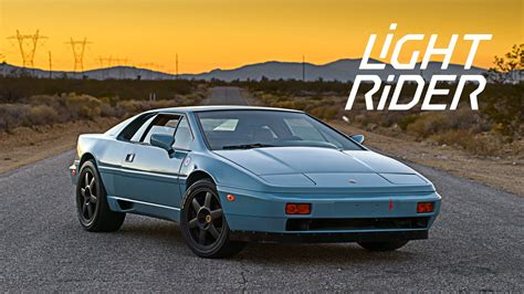 Light Rider by This Lotus Esprit Is A Light Rider Reborn