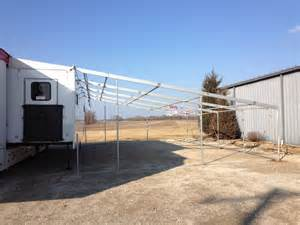 armbruster tent maker armbruster corporate trailer awning