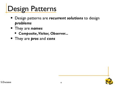 visitor pattern pros and cons stoop 423 some designpatterns