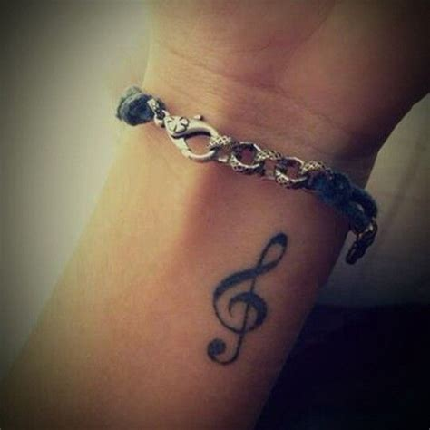 treble clef tattoo on wrist best 25 treble clef ideas on