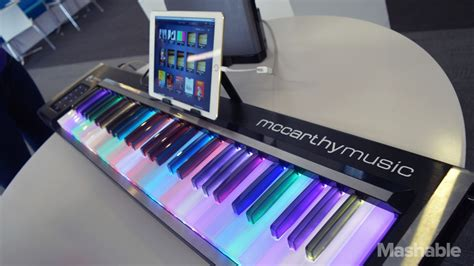 Learning The Piano Is More Fun With The Illuminating Piano