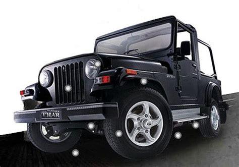 jeep jipsy mahindra thar