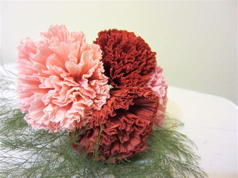 How To Make A Tissue Paper Flower Bouquet - how to make tissue paper flowers origami carnations