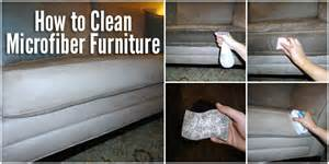 how to clean microfiber furniture cheaply diy for