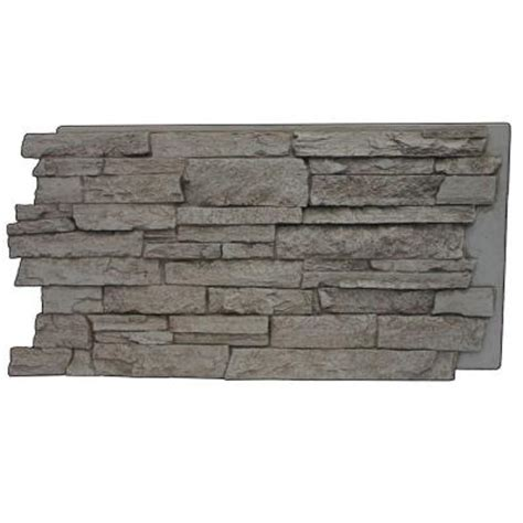 superior building supplies gray rock 24 3 4 in x 48 3 4
