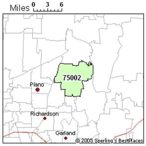 allen texas zip code map best place to live in allen zip 75002 texas