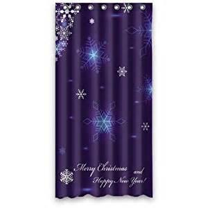 merry custom fashion shower curtain